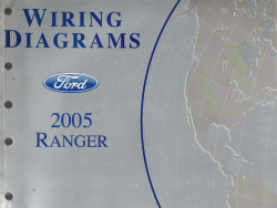 2005 Ford Ranger EVTM - Electrical and Vacuum Troubleshooting Manual