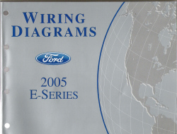 2005 Ford E- Series Wiring Diagram
