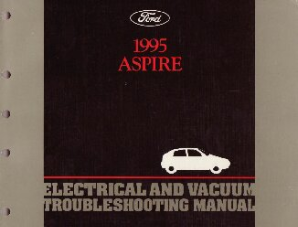 1995 Ford Aspire Electrical and Vacuum Troubleshooting Manual