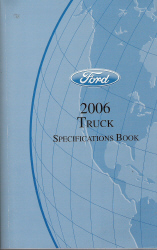 2006 Ford Factory Truck Specifications Book
