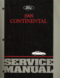 1995 Lincoln Continental Factory Service Manual