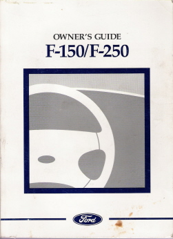 1997 Ford F-150 & F-250 Owner's Manual & Service Guide