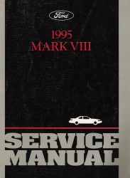 1995 Lincoln Mark VIII Service Manual