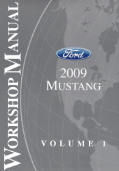 2009 Ford Mustang Factory Workshop Manual - 2 Volume Set