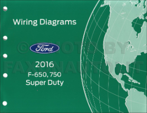 2016 F650 / F750 Factory Wiring Diagram