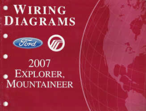 2007 Ford Explorer & Mercury Mountaineer - Wiring Diagrams