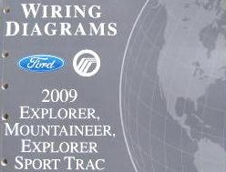 2009 Ford Explorer, Explorer Sport Trac & Mercury Mountaineer - Wiring Diagrams