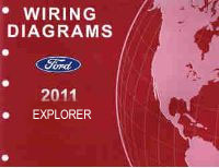 2011 Ford Explorer Factory Wiring Diagrams Manual