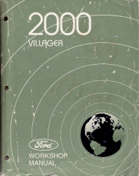 2000 Mercury Villager Factory Service Manual