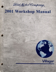 2001 Mercury Villager Factory Service Manual