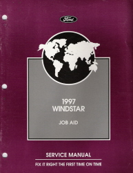 1997 Ford Windstar Job Aid Identification Codes Manual