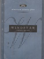 1995 Ford Windstar Owner's Manual