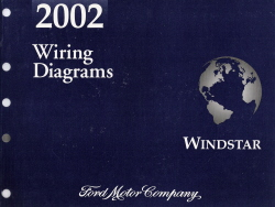 2002 Ford Windstar Wiring Diagrams Manual