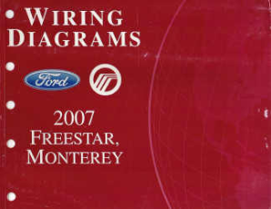 2007 Ford Freestar & Mercury Monterey - Wiring Diagrams