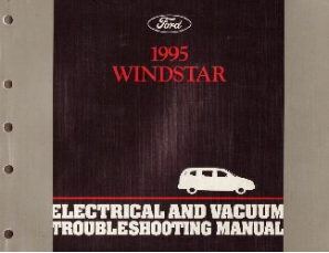 1995 Ford Windstar  Electrical and Vacuum Troubleshooting Manual