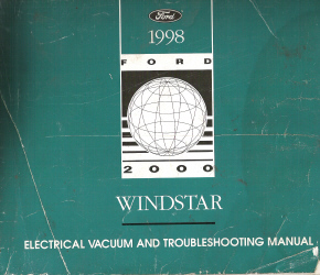 1998 Ford Windstar Electrical and Vacuum Troubleshooting Manual