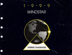 1999 Ford Windstar Wiring Diagrams Manual