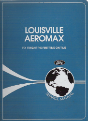 1996 Ford Louisville Aeromax Factory Service Manual