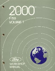 2000 Ford F150 Factory Workshop Manual - 2 Volume Set