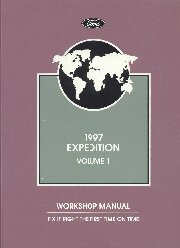 1997 Ford Expedition Workshop Factory Manual - 2 Volume Set