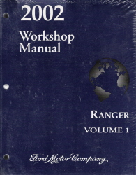 2002 Ford Ranger Factory Service Manual - 2 Vol. Set