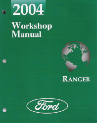2004 Ford Ranger Factory Service Manual