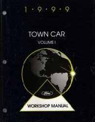 1999 Lincoln Town Car Factory Service Manual - 2 Volume Set