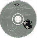 2000 Ford Car Factory Workshop Information - CD-ROM