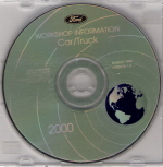 2000 Ford Car & Truck Factory Workshop Information - CD-ROM