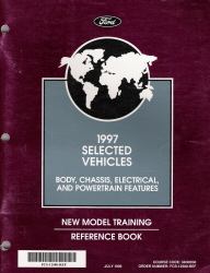 1997 Ford Selected Vehicles New Model Training Reference Book