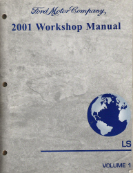 2001 Lincoln LS Factory Service Manual - 2 Volume Set