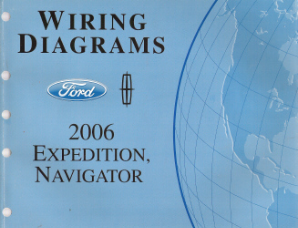2006 Ford Expedition & Lincoln Navigator Factory Wiring Diagrams