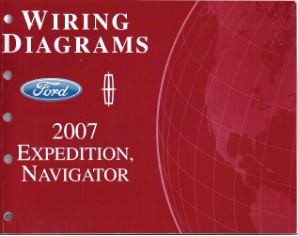 2007 Ford Expedition & Lincoln Navigator - Wiring Diagrams