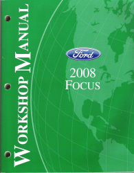 2008 Ford Focus Factory Service Manual