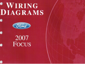 2007 Ford Focus Factory Wiring Diagrams Manual