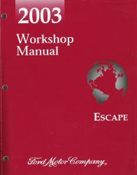 2003 Ford Escape Factory Workshop Manual