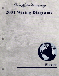 2001 Ford Escape Factory Wiring Diagrams Manual
