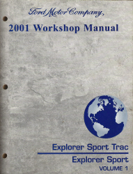 2001 Ford Explorer Sport Trac & Explorer Sport Factory Workshop Manual