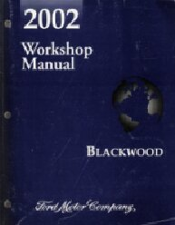 2002 Ford Blackwood Factory Service Manual