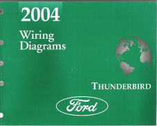 2004 Ford Thunderbird Factory Wiring Diagrams