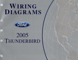 2005 Ford Thunderbird Factory Wiring Diagrams