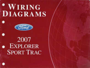 2007 Ford Explorer Sport Trac - Wiring Diagrams