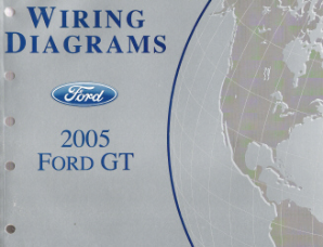 2005  Ford GT- Wiring Diagrams