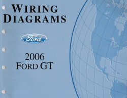 2006 Ford GT- Wiring Diagrams