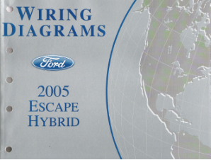 2005 Ford Escape Hybrid - Wiring Diagrams