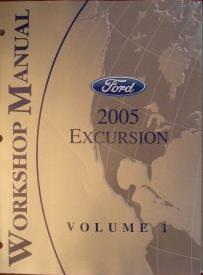 2005 Ford Excursion Service Manual - 2 Volume Set