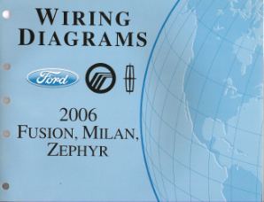 2006 Ford Fusion, Mercury Milan & Lincoln Zephyr - Wiring Diagrams