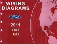2011 Ford Edge & Lincoln MKX Factory Wiring Diagrams Manual