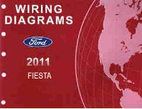 2011 Ford Fiesta Factory Wiring Diagrams Manual