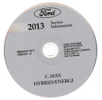 2013 Ford C-MAX Hybrid/Energi Factory Service Information CD-ROM